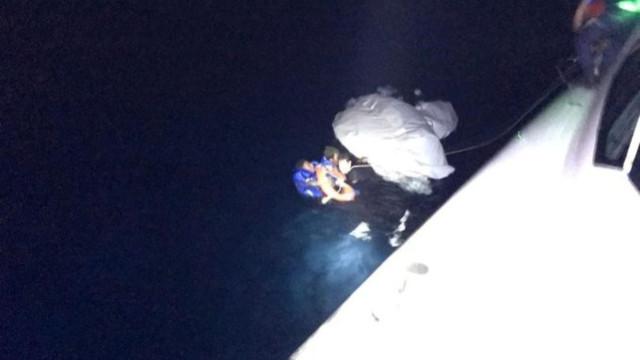 Ayvalık'ta sığınmacı botu battı!
