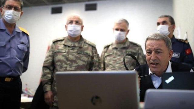 Milli Savunma Bakanı Akar: Şu ana kadar 41 terörist etkisiz hale getirildi