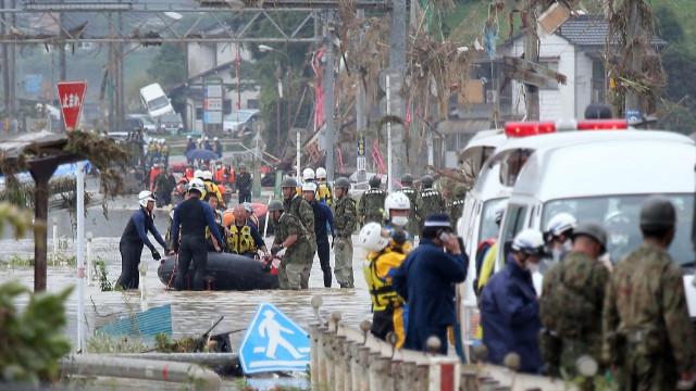 Japonya'daki sel felaketinde ölü sayısı 26'ya yükseldi