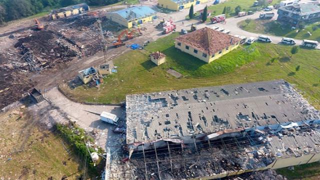Havai fişek fabrikasındaki patlama! Fabrikanın sahipleri gözaltına alındı