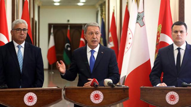 Milli Savunma Bakanı Akar: Hafter'e yapılan yardımın bir an önce kesilmesi elzemdir