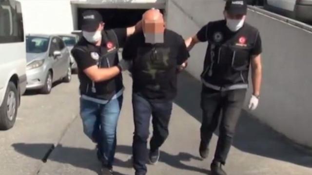 Kırmızı bültenle aranıyordu! İstanbul'da yakalandı
