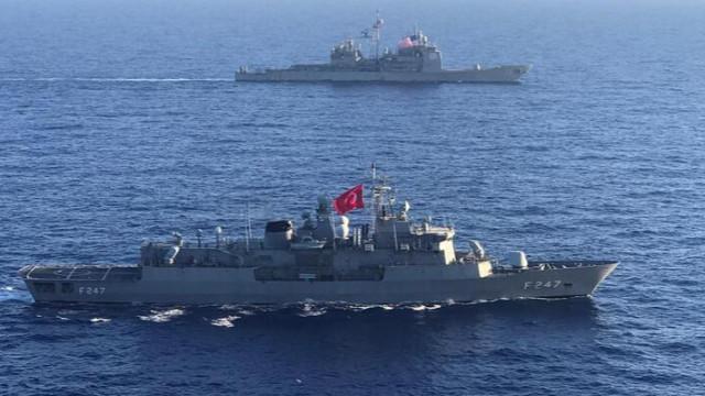 MSB duyurdu! Türkiye ve ABD'den deniz eğitimi
