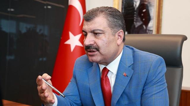 Müftüoğlu'na konuşan Bakan Koca: Koronavirüsün yeni belirtileri var