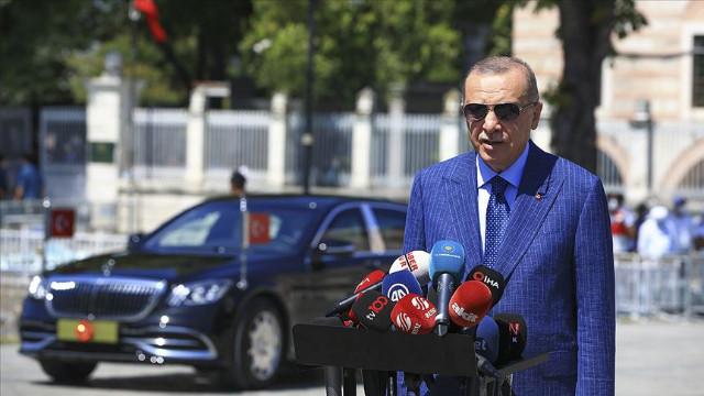 Cumhurbaşkanı Erdoğan: Kardeş Lübnan'ı yalnız bırakamayız