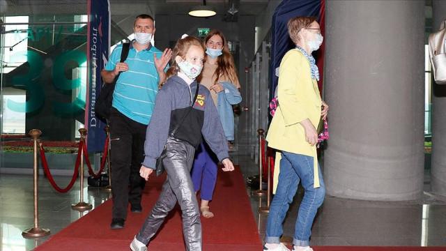 Ruslar tatil tercihini yine Türkiye'den yana kullandı