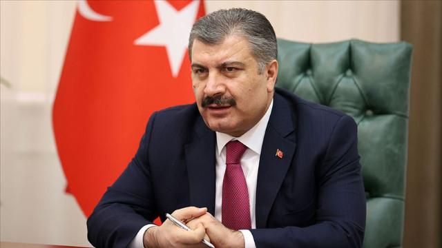 Bakan Koca Diyarbakır'da: Vaka oranımız yüzde 49 oranında düştü