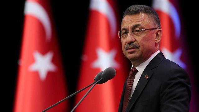 """Cumhurbaşkanı Yardımcısı Oktay: """"Akdeniz Fırtınası"""" tatbikatı bugün KKTC'de başlamıştır"""