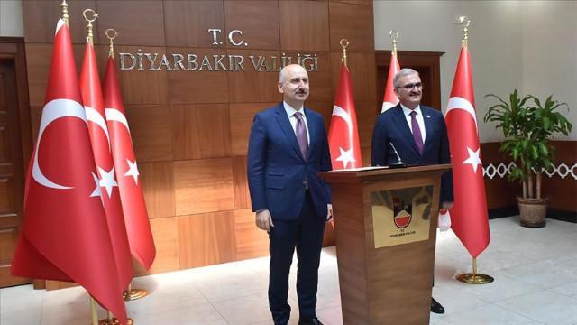Bakan Karaismailoğlu: 7 milyar liranın üstünde 18 yıldır Diyarbakır'da yatırım yaptık