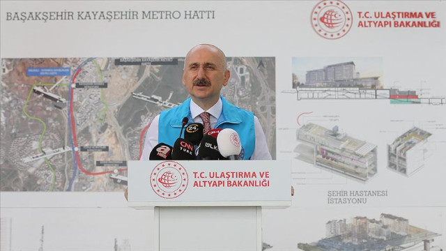 Karaismailoğlu'ndan metro açıklaması