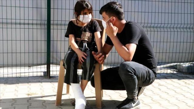 Yunan askerinin sınırda plastik mermiyle yaraladığı iddiası