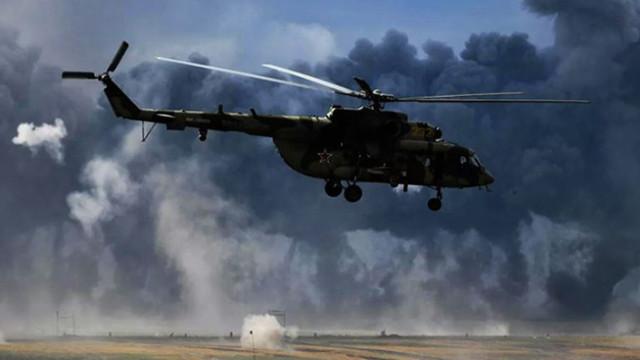 Libya'da Rus paralı askerleri taşıyan helikopter düştü!
