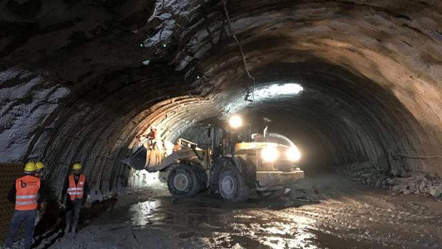 Erzurum'da tünelde patlama