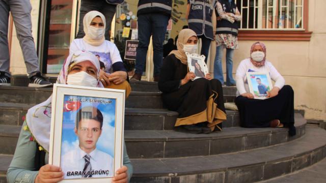 Annelerin HDP önündeki eyleminde 390'ıncı gün