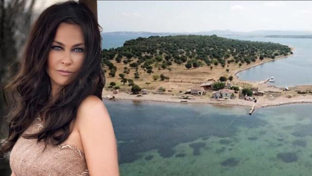 Hülya Avşar Ayvalık'tan ada satın aldı