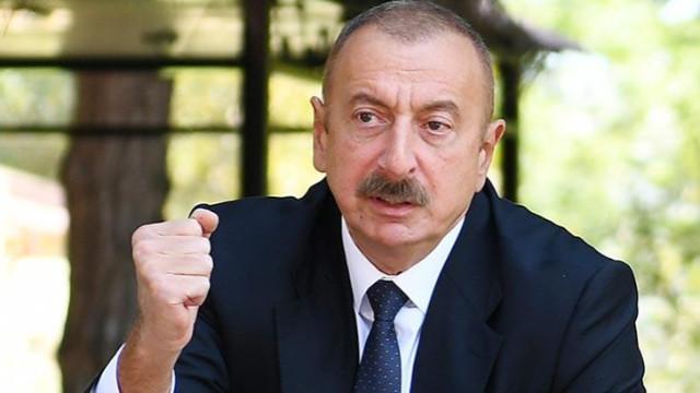 İlham Aliyev: Ermenistan savaşı kaybediyor