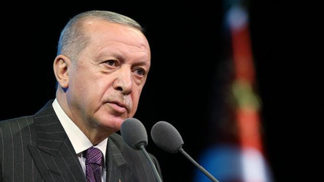 Erdoğan: Azerbaycan'ın yürüttüğü haklı mücadeleyi destekliyoruz