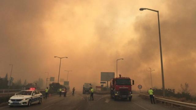 Hatay'daki orman yangını 3 ilçede devam ediyor!