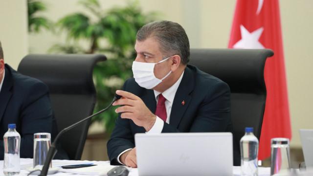 Sağlık Bakanı Fahrettin Koca son rakamları açıkladı