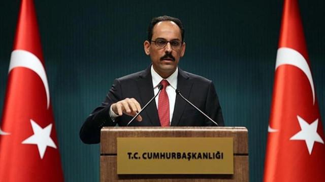 Kalın'dan Miçotakis'e tepki: Türkiye bugüne kadar hangi şantaja, hangi baskıya boyun eğdi