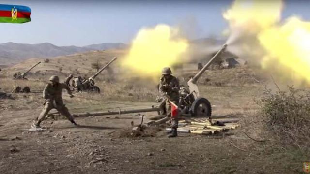 Azerbaycan, 400 askerin bulunduğu taburu yok etti!