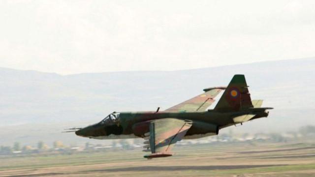 Azerbaycan Ermenistan savaş uçağını düşürdü