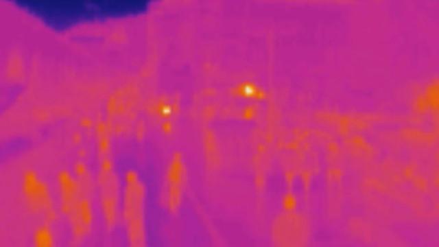 İstanbul'da termal kamera ile sigara denetimi