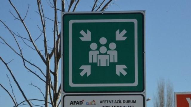 """AFAD'dan """"toplanma ve barınma"""" alanları bildirisi"""