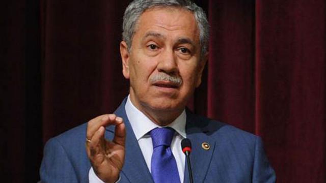 Arınç'ın sözlerine MHP'den tepki: Şerefsizlik ve haysiyetsizliktir