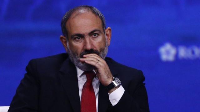 Paşinyan'dan Azerbaycan itirafı: Haritayı verdi!