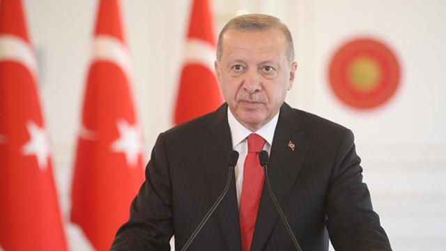 Cumhurbaşkanı Erdoğan'dan yeni yıl mesajı: Mücadelemize destek verin