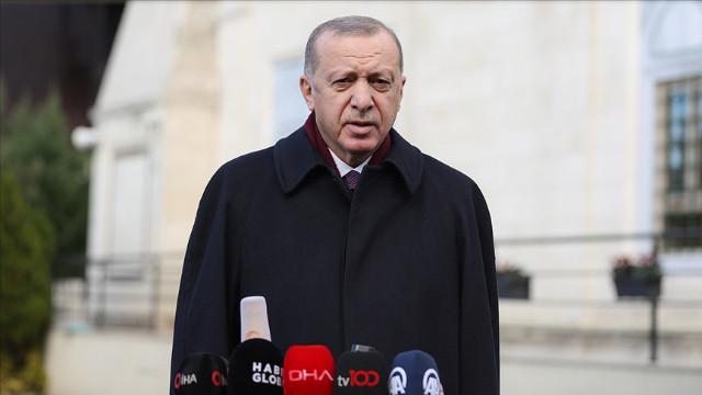 Cumhurbaşkanı Erdoğan: Almanya ile ortak üretim söz konusu