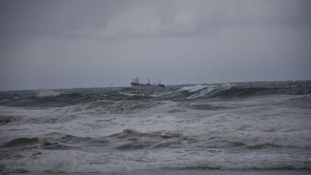 Bartın'da Rus bandıralı kuru yük gemisi battı