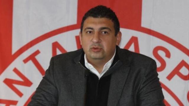 Antalyaspor Başkanı Ali Şafak Öztürk istifa etti!