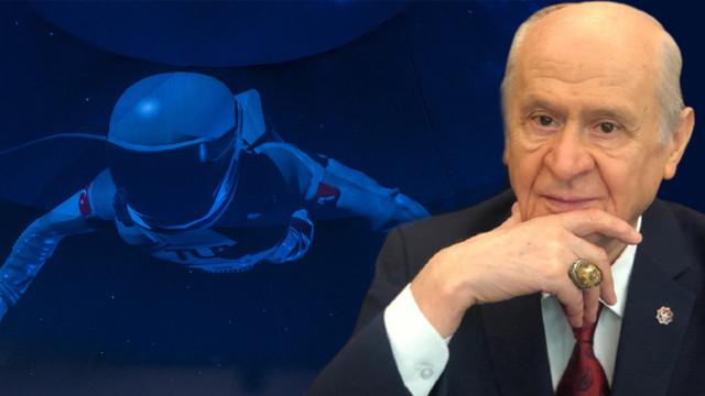 Bahçeli'den uzaya gidecek astronot için Türkçe isim önerisi geldi!