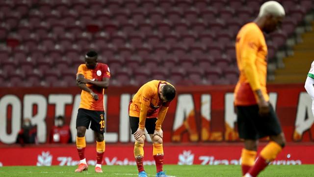 Galatasaray Alanya maçında ilkleri yaşadı
