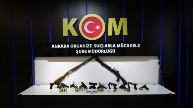 Ankara'da esnafı haraca bağlayan çeteye operasyon