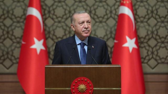 Cumhurbaşkanı Erdoğan: Kısa çalışma ödeneğinin süresini 17 Mart'a kadar uzattık