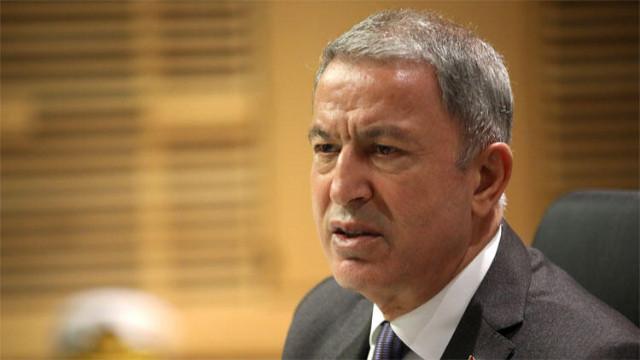 Bakan Akar'dan Gara mesajı: İnleri başlarına yıkıldı
