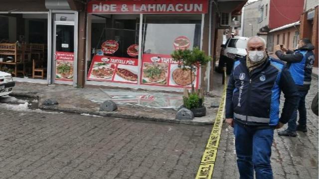 Beyoğlu'nda pide salonunda patlama