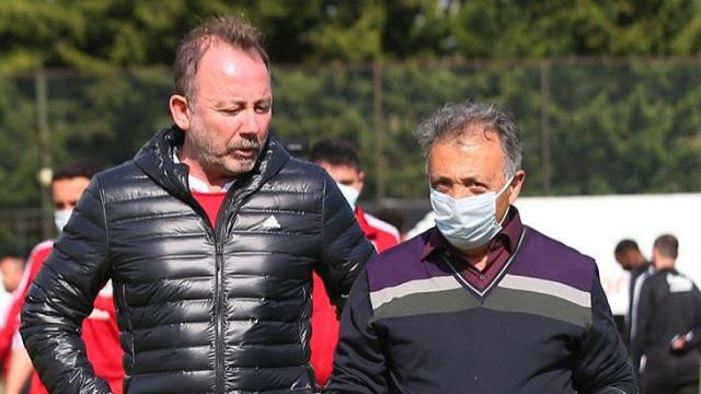 Beşiktaş'ta Yalçın ve Çebi zirvesi! Kontrat konusu çözüme ulaşıyor
