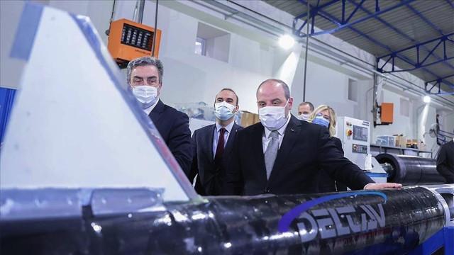 Varank'tan Delta V'ye 'ay' mesajı: Kendi ateşlememizi yapacak motorları geliştirmelerini bekliyoruz