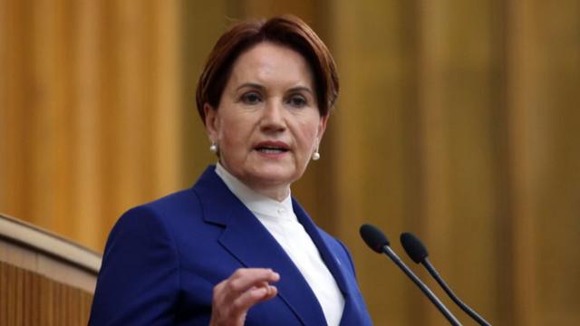 İYİ Parti Lideri Akşener: 3'üncü ittifak arayışı yok