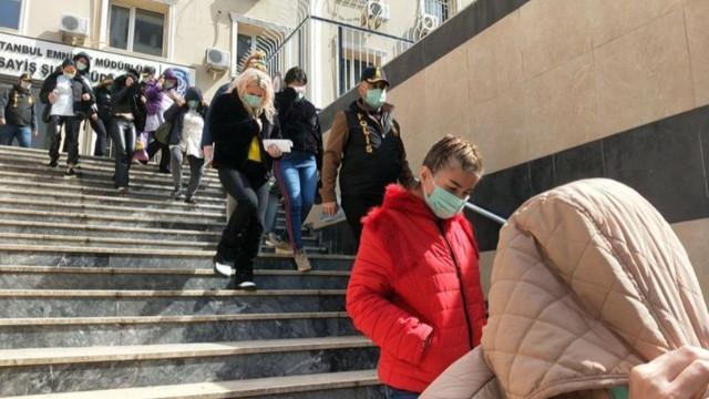 İstanbul'da 26 kadın kurtarıldı!