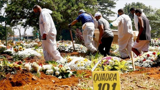 O ülkede bir günde 3 bin 400'den fazla kişi hayatını kaybetti