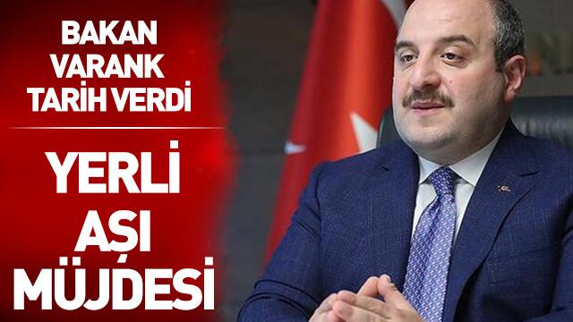 Mustafa Varank: Nisan ayında insanlı denemelere başlamış olacağız