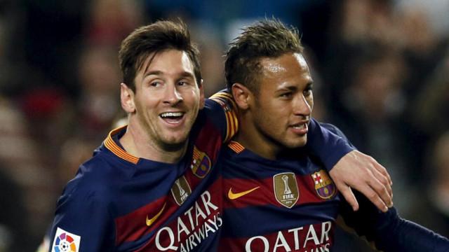 Neymar ve Messi tekrar bir araya geliyor