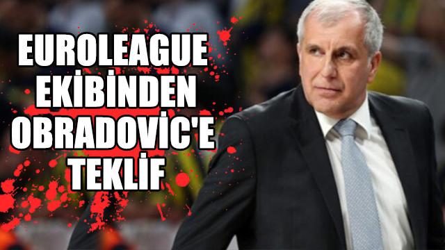 Euroleague ekibinden Obradovic'e teklif