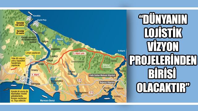 Bakan Karaismailoğlu'ndan Kanal İstanbul açıklaması: Dünyanın lojistik vizyon projelerinden birisi o