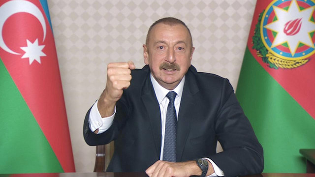 Aliyev'den net mesaj: Ermenistan istese de istemese de çözeceğiz